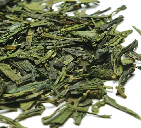 dragonwell green tea leaf