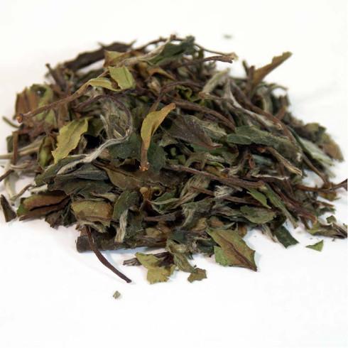 white leaf teas
