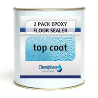 2 Pack Epoxy Floor Sealer (Top Coat) - 5 Litres
