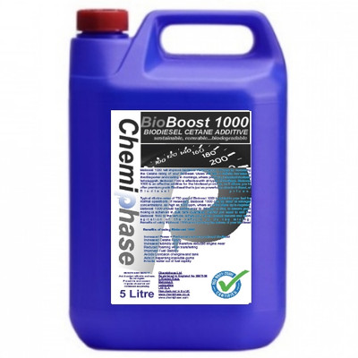 Bioboost 1000 - Biodiesel Cetane Performance Enhancer
