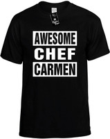 AWESOME CHEF CARMEN Novelty T-Shirt