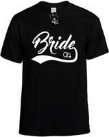 Bride (baseball with ring).cdr Novelty T-Shirt