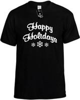 Happy Holidays Novelty T-Shirt