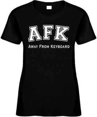 AFK (Away from Keyboard) Novelty T-Shirt