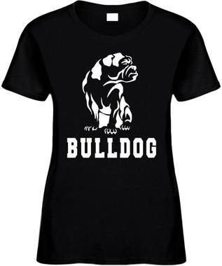 BULLDOG (with bulldog name ) Novelty T-Shirt