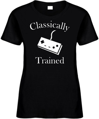 Classically Trained (controller) Novelty T-Shirt