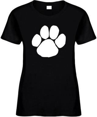 DOG PAW (animal) Novelty T-Shirt