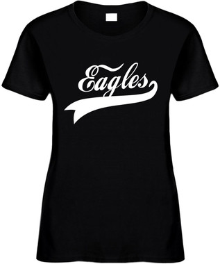 EAGLES (baseball font) Novelty T-Shirt