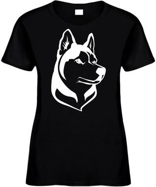 HUSKY (animal dog lover) Novelty T-Shirt