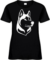 HUSKY (animal dog lover) Novelty T-Shirt