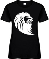 Lion Face (animal) Novelty T-Shirt