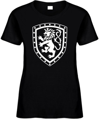 LION (with Shield) Novelty T-Shirt