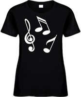Music Notes (group) Novelty T-Shirt