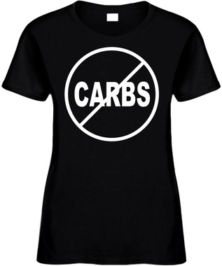 NO CARBS (anti-carbs) Novelty T-Shirt