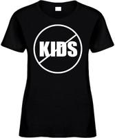 NO KIDS (anti-kids) Novelty T-Shirt
