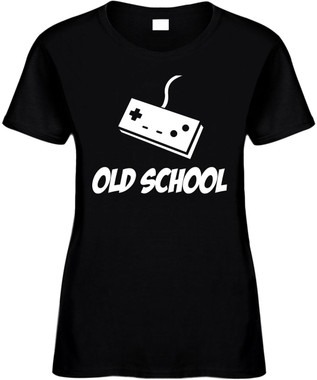 Old School with controller) Novelty T-Shirt