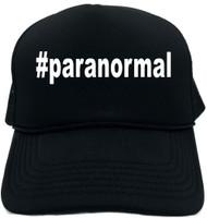 #paranormal (Hashtag Tee Shirt) Novelty Foam Trucker Hat