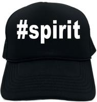 #spirit (Hashtag Tee Shirt) Novelty Foam Trucker Hat