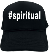 #spiritual (Hashtag Tee Shirt) Novelty Foam Trucker Hat