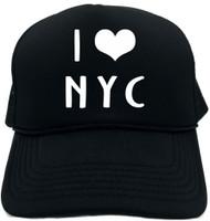 I LOVE (HEART) NYC Novelty Foam Trucker Hat