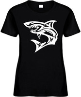 SHARK (fishing) Novelty T-Shirt