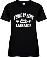 Proud Parent of a Labrador Novelty T-Shirt