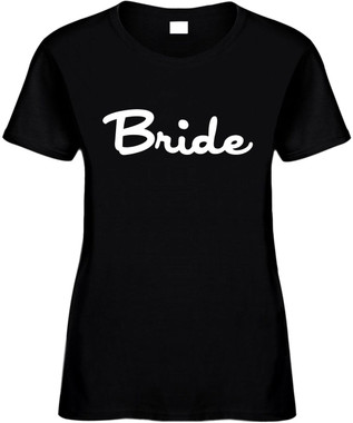 Bride Bridal Party Bachelorette Party T-Shirts Wedding Novelty Tee