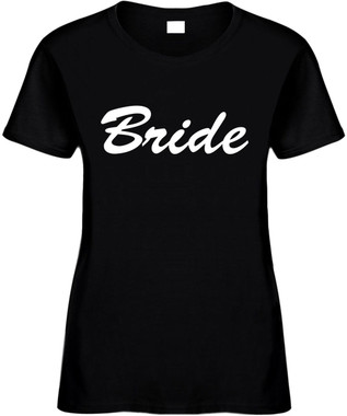 Bride Bridal Party Bachelorette Party T-Shirts Cute Wedding Novelty Tees