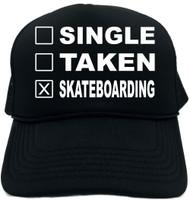 SINGLE TAKEN SKATEBOARDING Novelty Foam Trucker Hat