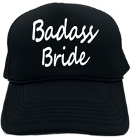 Badass Bride Novelty Foam Trucker Hat