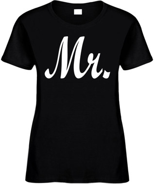 MR (Groom Wedding Bridal Party) Bachelor Party Marriage Novelty T-Shirts