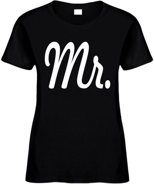 MR (Groom Wedding Bridal Party) Bachelor Party Marriage Novelty T-Shirt