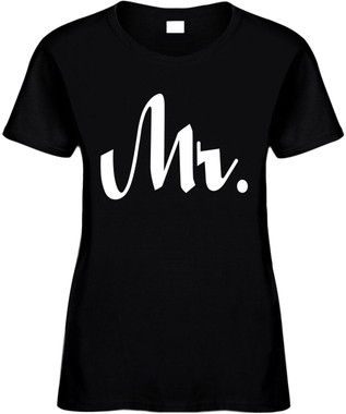 MR (Groom Wedding Bridal Party) Bachelor Party Marriage Novelty Tee Shirt