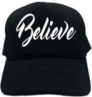 Believe Novelty Foam Trucker Hat