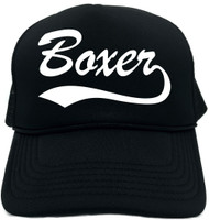 Boxer (baseball font) Novelty Foam Trucker Hat