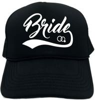 Bride (baseball with ring) Novelty Foam Trucker Hat