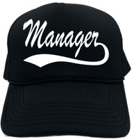 Manager (baseball font) Novelty Foam Trucker Hat