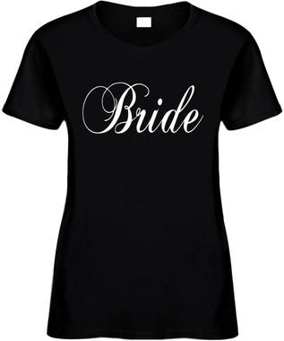 Bride Bridal Party Wedding Bachelorette Party Novelty Tee Shirt