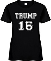 Trump 16 (Trump Presidential Candidate) Elections 2016 Novelty T-Shirts