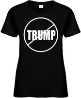 NO TRUMP (anti-trump) Elections 2016 Novelty T-Shirt