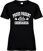 Proud Parent of a Chihuahua Novelty T-Shirt