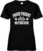 Proud Parent of a Retriever Novelty T-Shirt