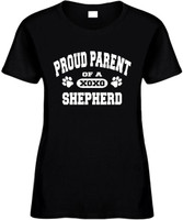 Proud Parent of a Shepherd Novelty T-Shirt