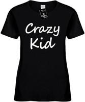 Crazy Kid Womens Novelty T-Shirt