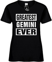 GREATEST GEMINI EVER (Horoscope) Womens Novelty T-Shirt