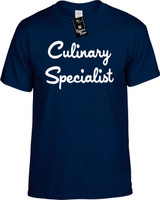 Culinary Specialist Funny T-Shirts Youth Novelty Tees
