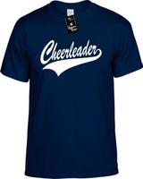 Cheerleader Funny T-Shirts Youth Novelty Tees