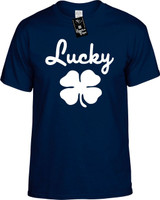 Lucky Clover Funny T-Shirts Youth Novelty Tees
