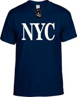 Nyc (New York City Ny) Funny T-Shirts Youth Novelty Tees