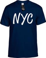 Nyc (New York City Ny) Funny T-Shirts Youth Novelty Tee